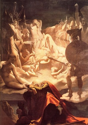 Ingres, Jean Auguste The Dream of Ossian end