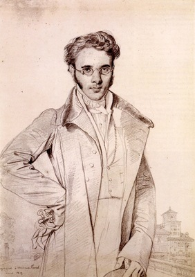 Ingres Andre Benoit Barreau called Taurel