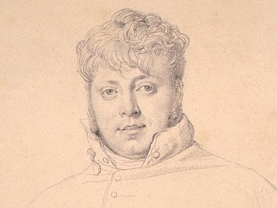 Ingres Auguste Jean Marie Guenepin 1809 detail1