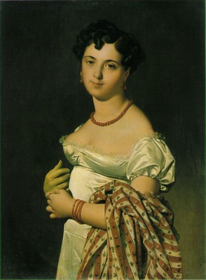 Ingres Cecile Bochet, Madame Panckoucke, 1811, Louvre