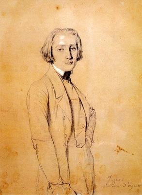 Ingres Franz Liszt
