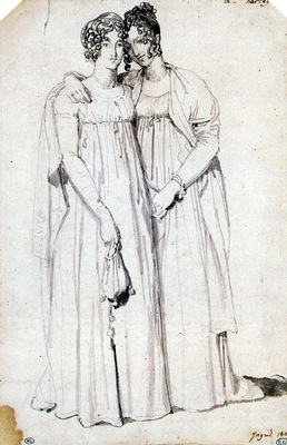 Ingres Henriette Harvey and her half Sister Elizabeth Norton