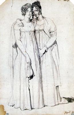 Ingres Henriette Harvey and her half Sister Elizabeth Norton