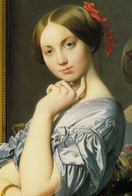 Ingres Louise de Broglie, Countesse dHaussonville, 1845, de