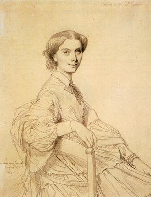 Ingres Madame Charles Gounod born Anna Zimmermann