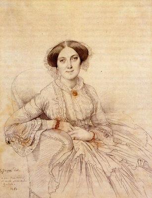 Ingres Madame Felix Gallois born Nathalie Rose Joachime Bochet