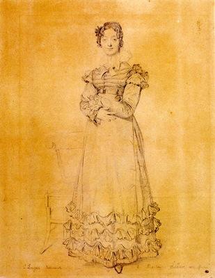 Ingres Madame Jacquelles Louis Leblanc born Francoise Poncelle