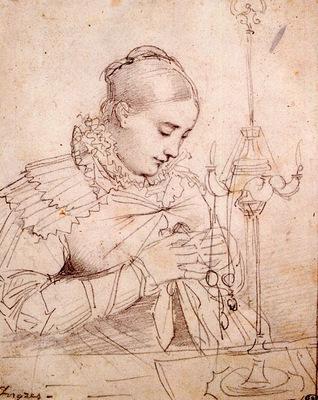 Ingres Madame Jean Auguste Dominique Ingres born Madeleine Chapelle2
