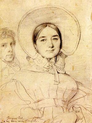 Ingres Madame Jean Auguste Dominique Ingres born Madeleine Chapelle3