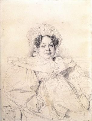 Ingres Madame Louis Francois Bertin