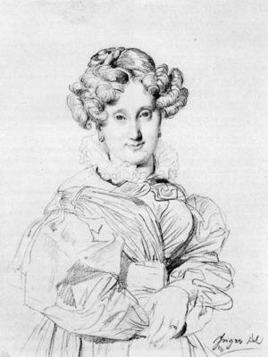 Ingres Madame Louis Francois Godinot born Victoire Pauline Thiolliere de L Isle