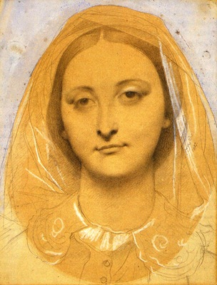 Ingres Mademoiselle Mary de Borderieux
