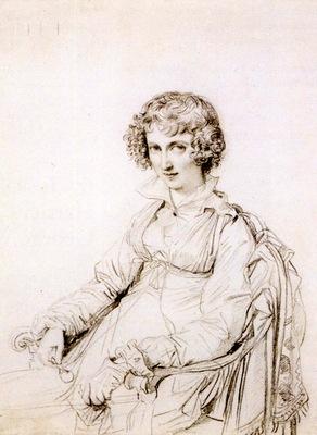 Ingres Mrs  Charles Thomas Thruston born Frances Edwards