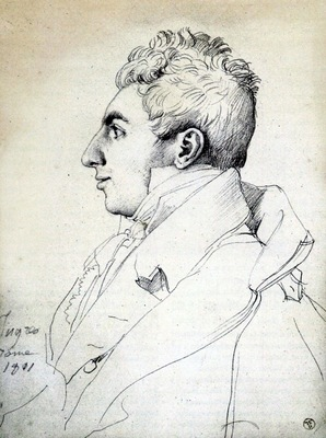 Ingres Portrait of a Man