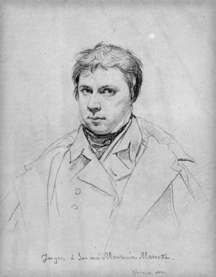 Ingres Selfportrait