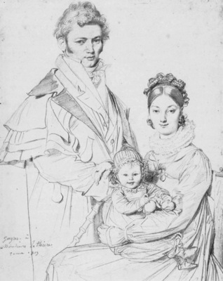 Ingres The Alexandre Lethiere Family