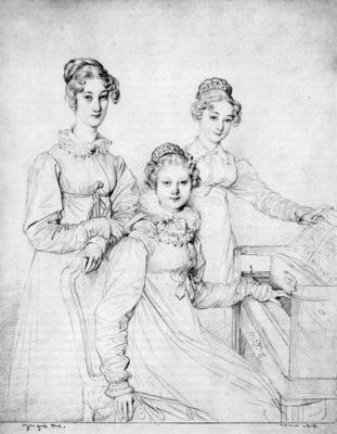 Ingres The Kaunitz Sisters