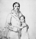 Ingres Charles Hayard and his daughter Marguerite