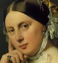 Ingres Delphine Ramel, Madame Ingres, 1859, detalj 2, Oscar