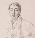 Ingres Dr  Louis Martinet 1826 detail1