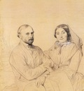 Ingres Edmond Ramel and his wife born Irma Donbernard