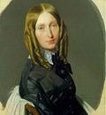 Ingres Hortense Reiset, Madame Reiset, 1846, Fogg art museum