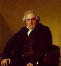 Ingres Louis Francois Bertin, 1833, Louvre