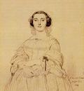 Ingres Madame Charles Simart born Amelie Baltard