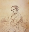 Ingres Madame Jean Auguste Dominique Ingres born Delphine Ramel