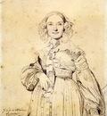 Ingres Madame Jean Auguste Dominique Ingres born Madeleine Chapelle5