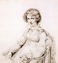 Ingres Mrs  Charles Thomas Thruston born Frances Edwards