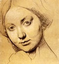 Ingres Study for Vicomtesse d Haussonville born Louise Albertine de Broglie2