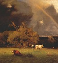inness the rainbow c1878