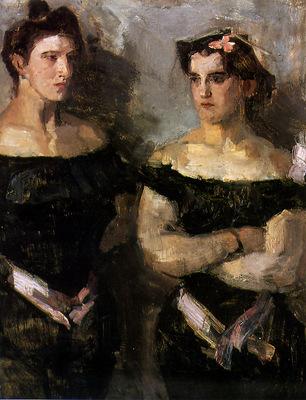 Israel Isaac The sisters dAineff Sun