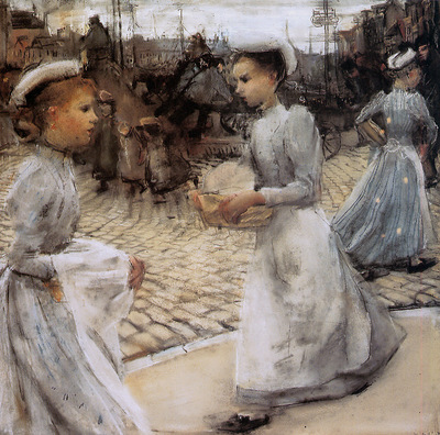 Israels Isaac Girls of the Munt Sun