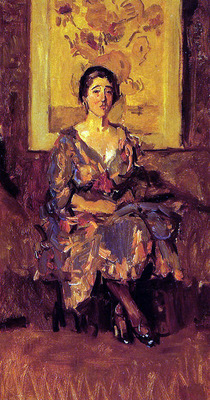 Israels Isaac The sitting lady Sun