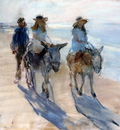 israels isaac riding the donkey sun