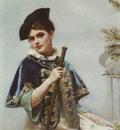 A Portrait of a Noble Lady