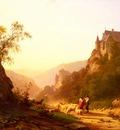 Jansen Joseph Shepherds In A Landscape