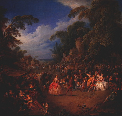 lrs the fair at bezons jean baptiste pater