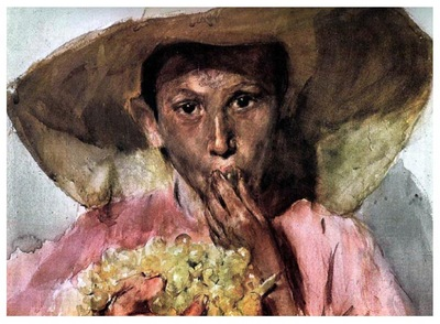 ls Sorolla 1898 Comiendo uvas