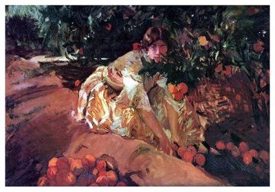 ls Sorolla 1907 Entre naranjos