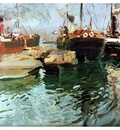 ls Sorolla 1908 Puerto de Valencia