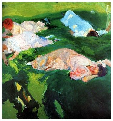 ls Sorolla 1912 La siesta