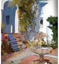 ls Sorolla 1910 Rincon del grutesco del Alcazar de Sevilla