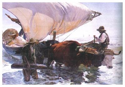 ls Sorolla 1894 La vuelta de la pesca