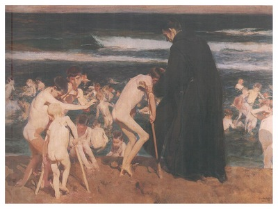 ls Sorolla 1899 Triste herencia
