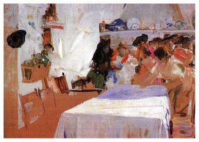 ls Sorolla 1899 El bautizo