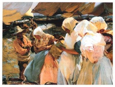 ls Sorolla 1903 Pescadoras valencianas
