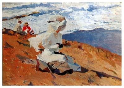 ls Sorolla 1906 Instantanea Biarritz